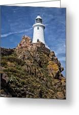 La Corbiere Lighthouse Greeting Card