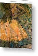 La Danseuse Greeting Card