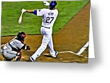 La Dodgers Matt Kemp Greeting Card