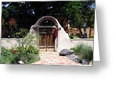 La Entrada A La Casa Vieja De Mesilla Greeting Card