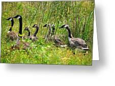 La Familia Greeting Card