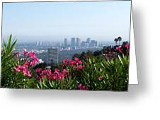 L.a. From Beverly Hills Greeting Card