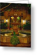 La Fuente At Tlaquepaque Greeting Card