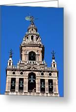 La Giralda Belfry In Seville Greeting Card
