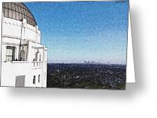 LA Greeting Card