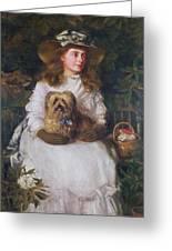 La Jeunesse, 1884 Greeting Card