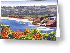La Jolla Beach And Tennis Club Greeting Card