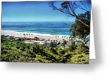 La Jolla Beach Greeting Card