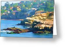La Jolla California Cove And Caves Greeting Card