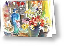 La Laguna Market 01 Greeting Card