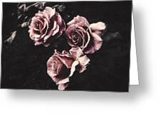 Le Langage Des Fleurs Greeting Card