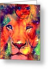 La Lionne Greeting Card