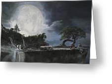 La Luna Bianca Greeting Card