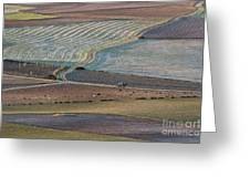 La Mancha Landscape - Spain Series-ocho Greeting Card