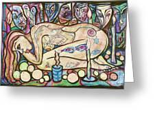 La Ofrenda A Yemanja - Version 02 Greeting Card