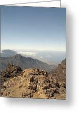 La Palma Greeting Card by Peter Cassidy