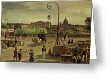 La Place De La Concorde Greeting Card