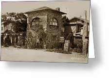 La Playa Carmel And Located At Camino Real At Eighth Ave. Circa  1925 Greeting Card