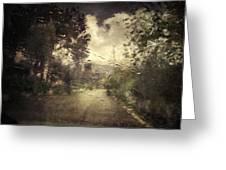 La Pluie 4.45 Greeting Card