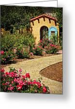 La Posada Gardens In Winslow Arizona Greeting Card