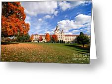 La Roche College On A Fall Day Greeting Card