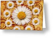 La Ronde Des Marguerites 0101a Greeting Card