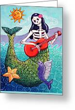 La Sirena Greeting Card