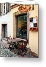 La Tinta Cafe Greeting Card