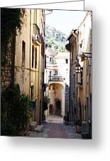 La Turbie French Village 5 Greeting Card