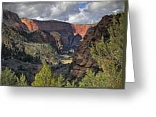 La Verkin Creek Greeting Card