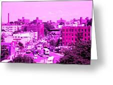La Vie En Rose Le Bronx Greeting Card