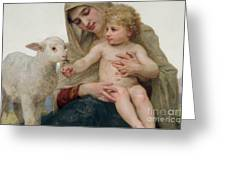 La Vierge A Lagneau Greeting Card