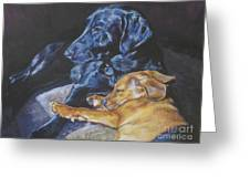Labrador Love Greeting Card