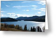 Lac Des Roches Greeting Card