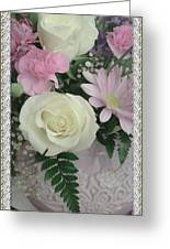 Lace Framed Mothers Day Greeting Card