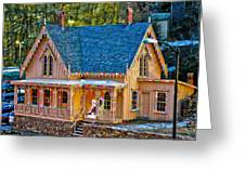 Lace House Blackhawk  Colorado Greeting Card