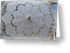 Lace Umbrella Greeting Card