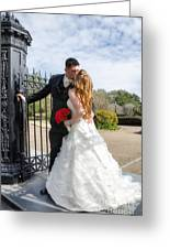 Lacey And Adam Wedding 1 Greeting Card