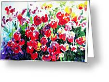 Laconner Tulips Greeting Card