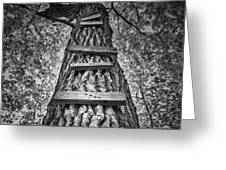 Ladder To The Treehouse Greeting Card