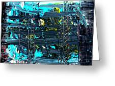 Ladders Under The Sea I Greeting Card