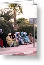 Ladies In Waiting Greeting Card