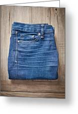 Ladies' Jeans Greeting Card