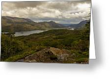 Ladies View Lakes Of Killarney Ireland Greeting Card by Dick Wood