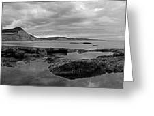Ladram Bay And Sidmouth Greeting Card