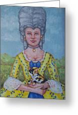 Lady Abigail Greeting Card
