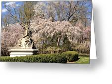 Lady Baltimore Statue Greeting Card