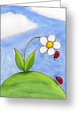 Lady Bug Love Greeting Card