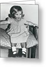 Lady Diana A Chubby Two-year Old Greeting Card