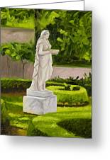 Lady Gandes Garden Greeting Card